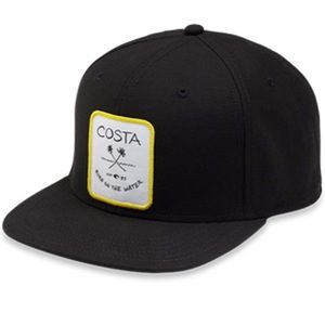 Costa Del Mar Palms Twill Flat Brim SnapBack hat